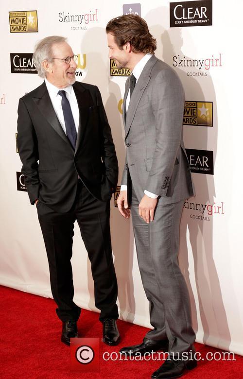 Steven Spielberg and Bradley Cooper 3