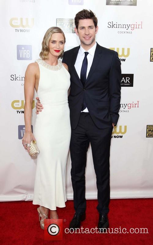 Emily Blunt and John Krasinski 9
