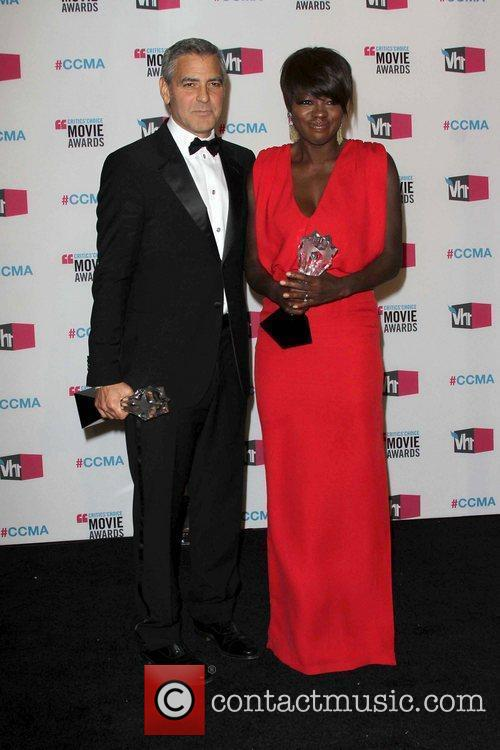 George Clooney and Viola Davis 2