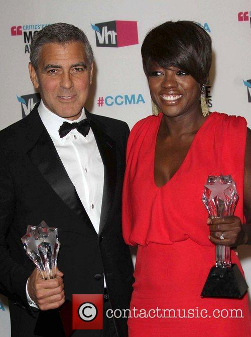 George Clooney and Viola Davis 4