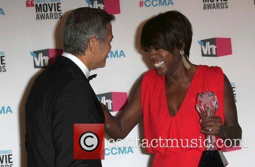 George Clooney and Viola Davis 5