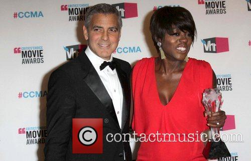 George Clooney and Viola Davis 6