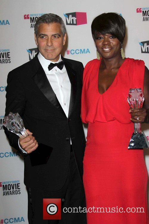George Clooney and Viola Davis 7