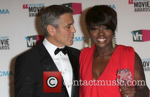 George Clooney and Viola Davis 8