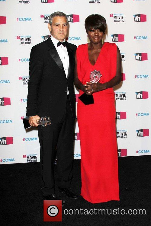 George Clooney and Viola Davis 1