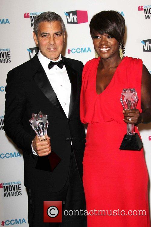 George Clooney and Viola Davis 10
