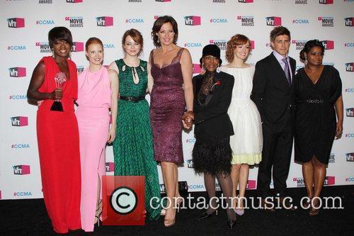 Viola Davis, Allison Janney, Emma Stone and Jessica Chastain 5