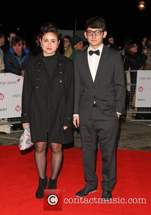 Yasmin Paige and Craig Roberts The Critics' Circle...