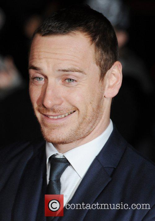 Michael Fassbender at London Film Critics' Circle Awards...