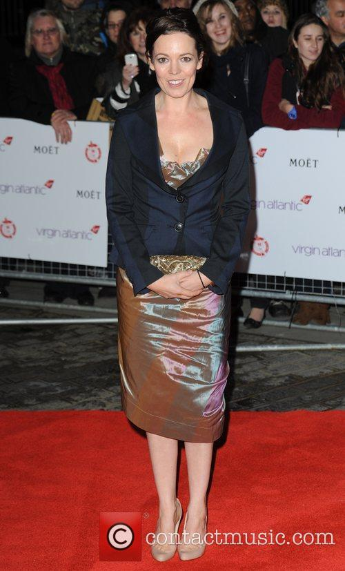 Olivia Colman at London Film Critics' Circle Awards...