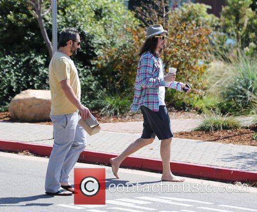 Cisco Adler and Ari Lehman visit the Cross...