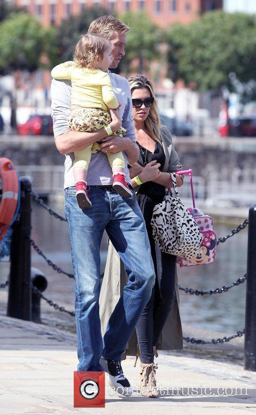 Peter Crouch and Abigail Clancy 2