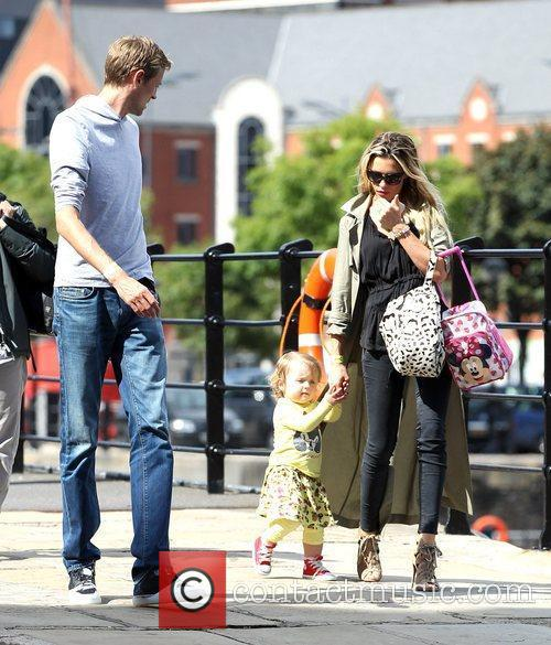 Peter Crouch and Abigail Clancy 12