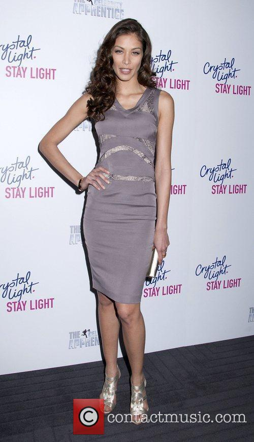 Dayana Mendoza Crystal Light celebrate the launch of...