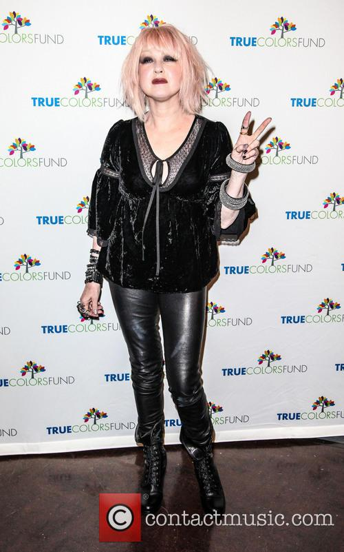 Cyndi Lauper, Friends, Home For The Holiday's, Concert, The Beacon Theatre and Arrivals 4