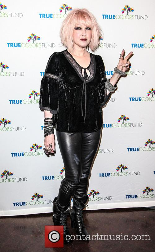 Cyndi Lauper, Friends, Home For The Holiday's, Concert, The Beacon Theatre and Arrivals 3