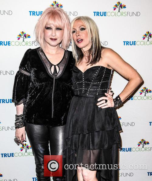 Cyndi Lauper, Friends, Home For The Holiday's, Concert, The Beacon Theatre and Arrivals 2