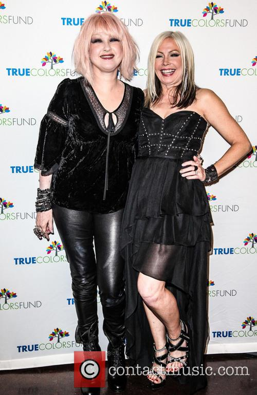 Cyndi Lauper, Friends, Home For The Holiday's, Concert, The Beacon Theatre and Arrivals 5