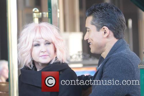 Cyndi Lauper at The Grove to appear on...