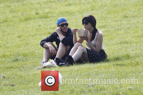Daisy Lowe  spends an afternoon with a...