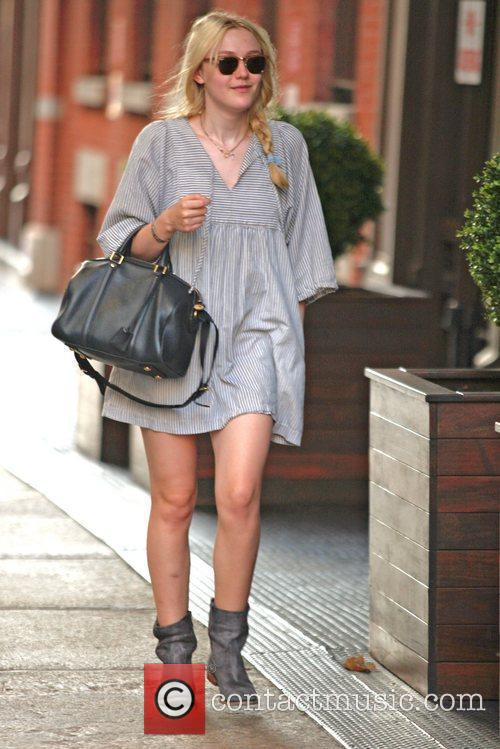 Dakota Fanning  see out and about in...
