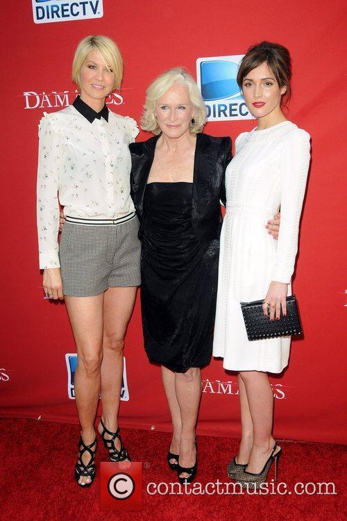 Jenna Elfman and Glenn Close 2