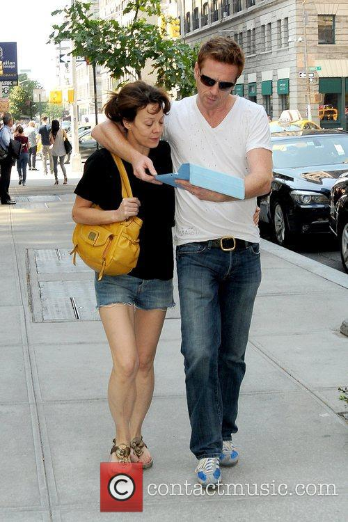 Helen Mccrory, Damian Lewis and Manhattan Hotel 2