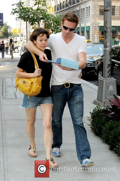 Helen Mccrory, Damian Lewis and Manhattan Hotel 4