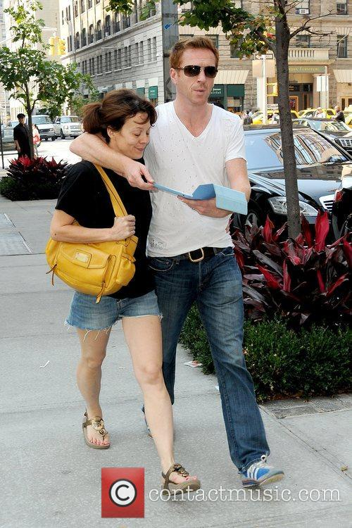 Helen Mccrory, Damian Lewis and Manhattan Hotel 5
