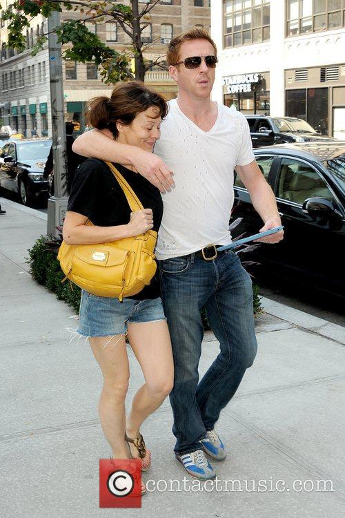 Helen Mccrory, Damian Lewis and Manhattan Hotel 6
