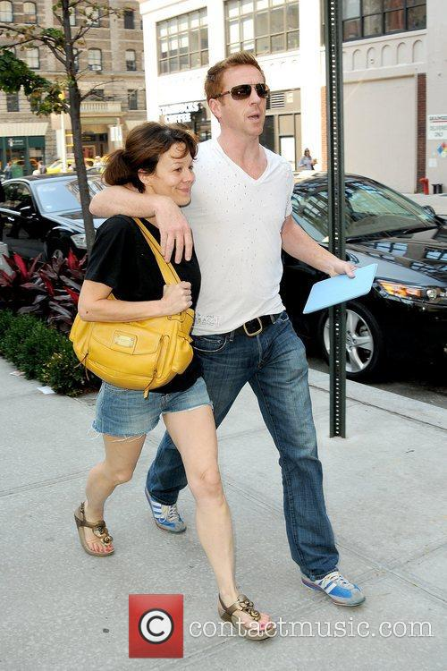 Helen Mccrory, Damian Lewis and Manhattan Hotel 7