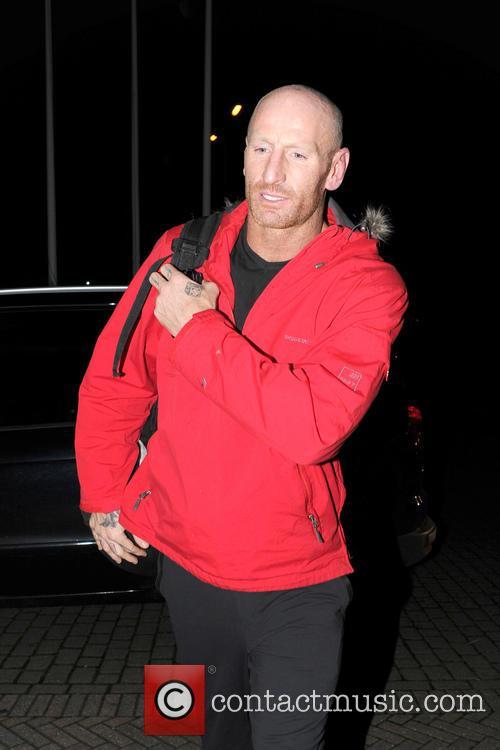 Gareth Thomas Dancing On Ice celebrities seen returning...