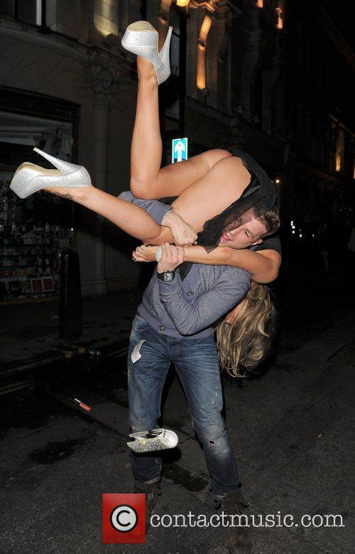 Danielle Mason and boyfriend Tony Giles out and...