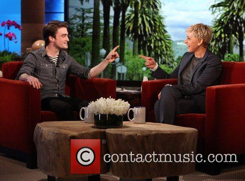 Daniel Radcliffe appears on 'The Ellen Degeneres Show'