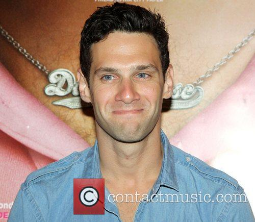 Justin Bartha The Los Angeles premiere of 'Dark...