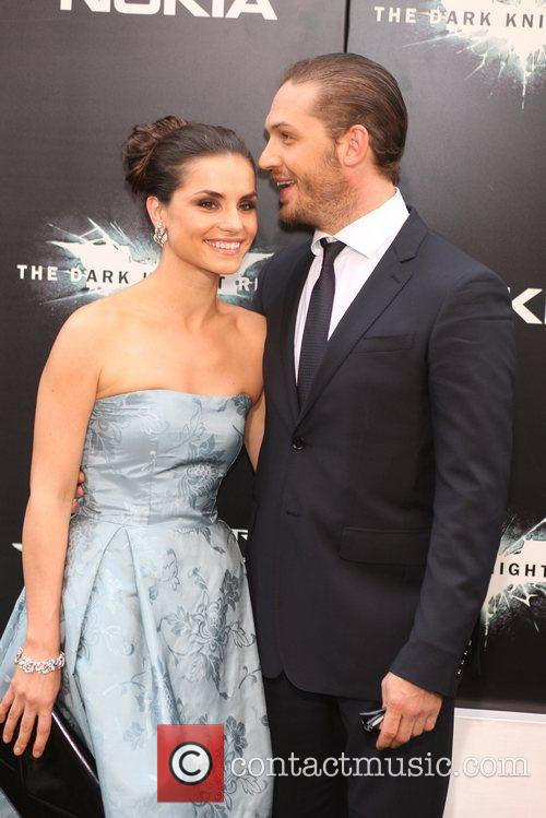 Tom Hardy and Charlotte Riley 'The Dark Knight...