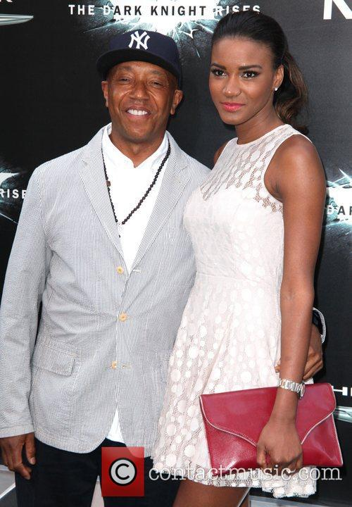 Russell Simmons and Leila Lopes 'The Dark Knight...