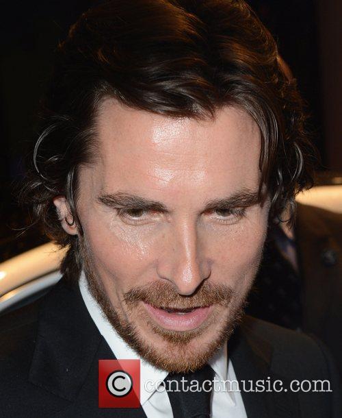 Christian Bale Batman Premiere