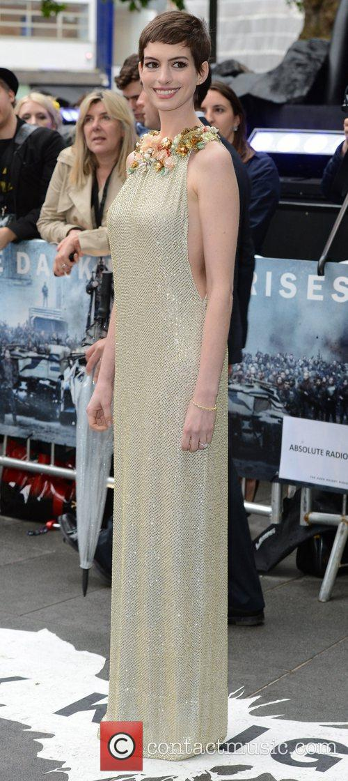 Anne Hathaway, The Dark Knight and Odeon Leicester Square 7