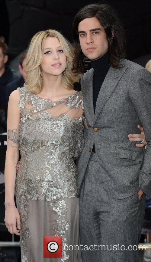Peaches Geldof, The Dark Knight and Odeon Leicester Square 1