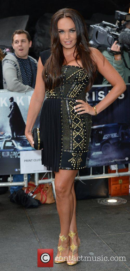 Tamara Ecclestone, The Dark Knight and Odeon Leicester Square 2
