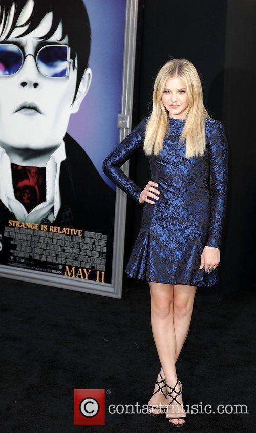 Chloe Moretz and Grauman's Chinese Theatre 2