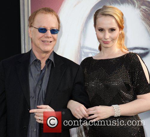 Composer Danny Elfman and guest Dark Shadows Premiere...