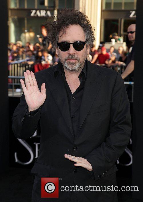 Tim Burton Dark Shadows Premiere at Grauman's Chinese...