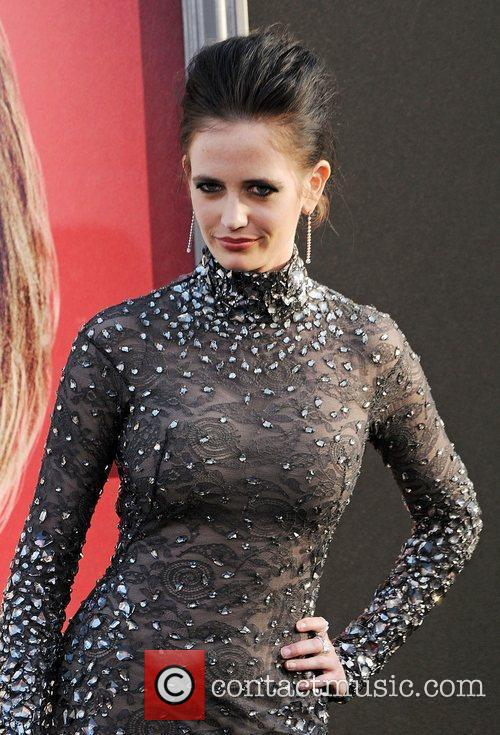 Eva Green and Grauman's Chinese Theatre 5