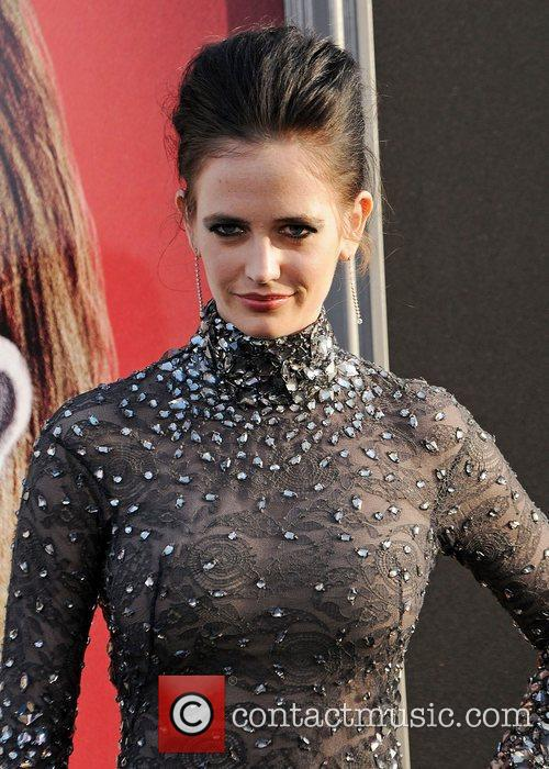 Eva Green and Grauman's Chinese Theatre 1