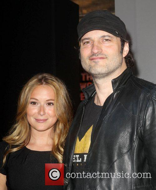 Alexa Vega, Robert Rodriguez and Grauman's Chinese Theatre 2