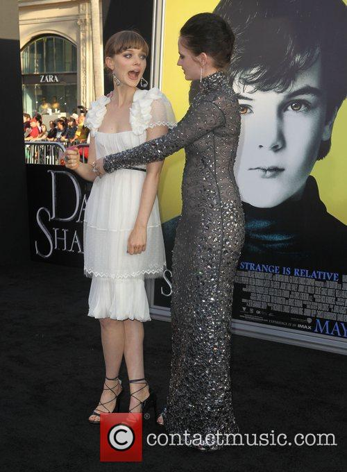 Bella Heathcote, Eva Green and Grauman's Chinese Theatre 3