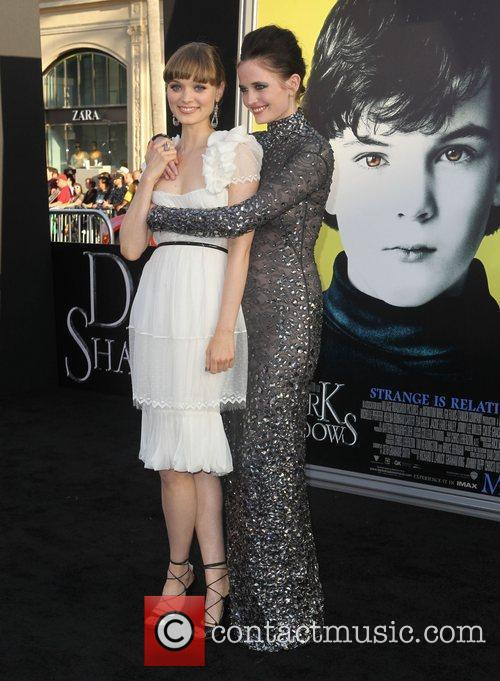 Bella Heathcote, Eva Green and Grauman's Chinese Theatre 4