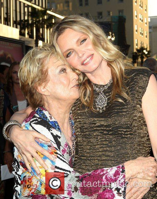 Cloris Leachman, Michelle Pfeiffer and Grauman's Chinese Theatre 1
